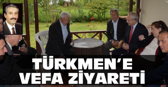 Türkmen Ailesi'ne vefa ziyareti