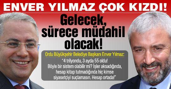 Türkmen, Enver Yılmaz'ı çok kızdırdı!
