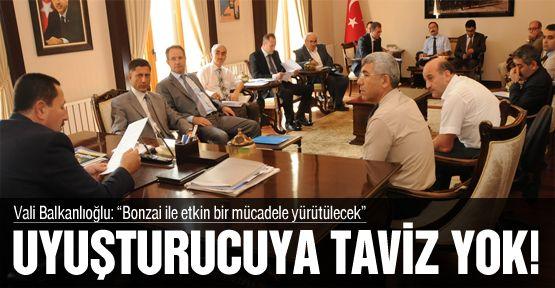 Vali Balkanlıoğlu, uyuşturucu maddelere karşı savaş açtı