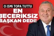 MHP'li Enginyurt en beceriksiz başkan dedi!