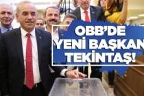OBB'de yeni Başkan Tekintaş oldu