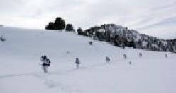 Mehmetçik'in karla sınavı!