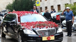 Erdoğan'ı işte böyle karşıladılar