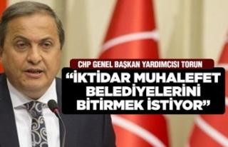 CHP'li Torun'dan belediye tepkisi