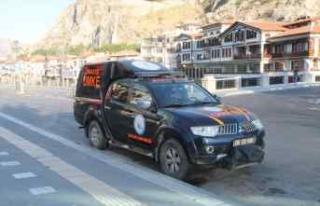 Amasya'dan selin vurduğu Giresun'a UMKE...