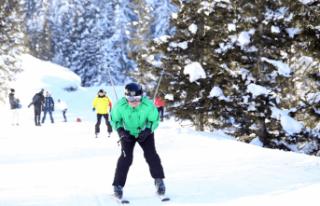 Çambaşı Kayak Merkezi sezonu açtı