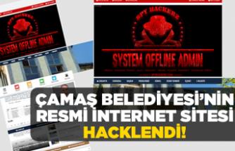 Çamaş Belediyesi'nin sitesi hacklendi!