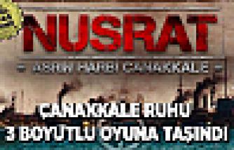 Çanakkale ruhu 'Nusrat'la yeniden yaşanacak!