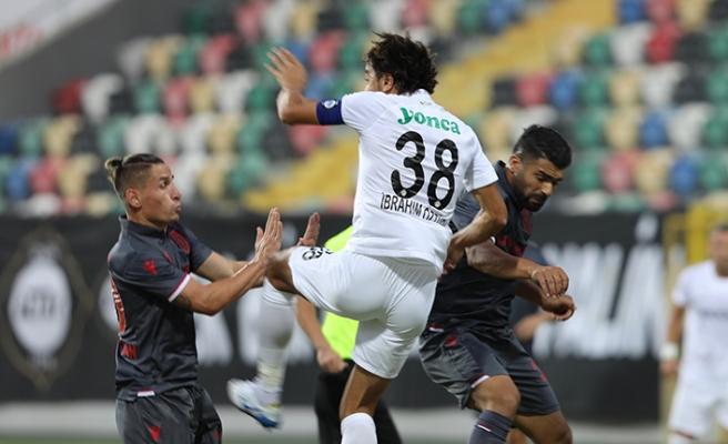Samsunspor açılışı 1 puanla yaptı