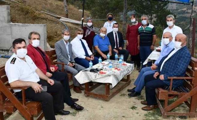 Vali Gürel'den köy ziyaretleri