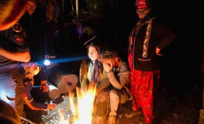 Düzce'de ormanda kaybolan yaşlı kadın bulundu