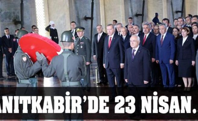 Anıtkabir'de 23 Nisan...