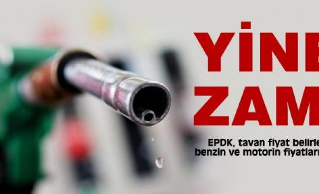 Benzin ve motorin fiyatlarına zam