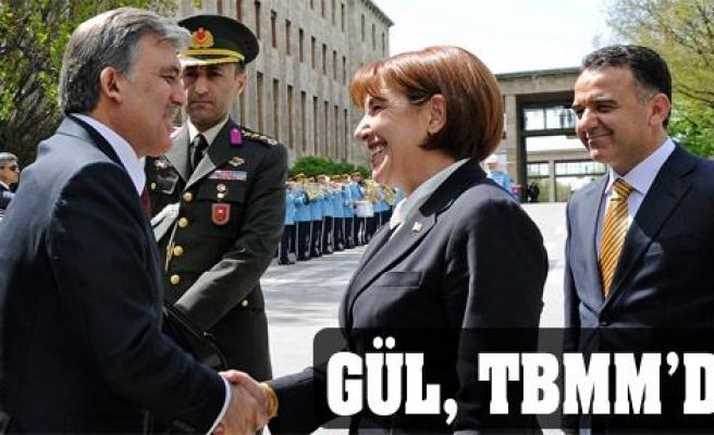 Cumhurbaşkanı Gül, TBMM'de