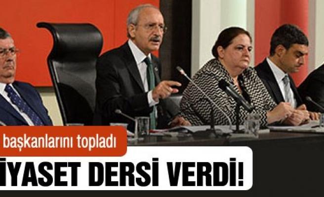 Kılıçdaroğlu, partililere 'ben' değil, 'biz' demeyi öğretti