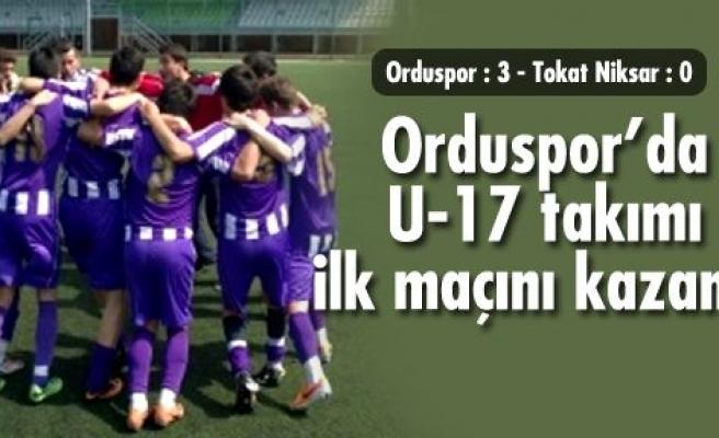 U17 Orduspor grubunda final oynayacak