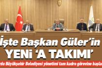 Büyükşehir'de 'A Takımı' göreve başladı