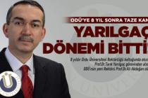ODÜ'de Yarılgaç devri kapandı!