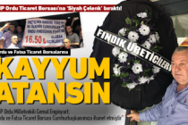 MHP Ordu'da borsalara 'kayyum' istedi!
