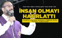 Yazar Sinan Yağmur 'insan' olmayı hatırlattı