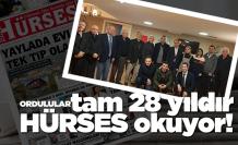 Ordu Hürses Gazetesi 28 yaşında!