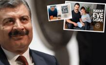 Bakan Koca'nın kampanyasına ünlülerden destek