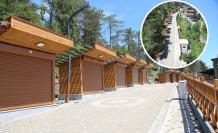 Boztepe'deki 20 büfe kiraya veriliyor