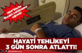 HDP'liler Ordulu gence saldırdı!