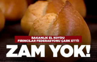 Ekmek zammına devlet el koydu!