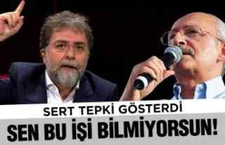 Kılıçdaroğlu'na böyle tepki gösterdi!