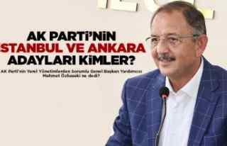 Ankara ve İstanbul adayları kim olacak?