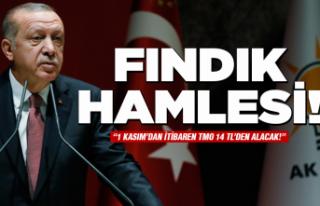 Cumhurbaşkanı Erdoğan'dan 'fındık'...