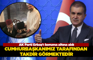 AK Parti Erbaş'ı koruma altına aldı
