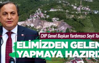 CHP'li Torun'dan 'Aybastı' açıklaması