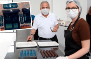 Ordu'nun yeni çikolata markası 'Kybele'...