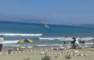 Sinop'ta denizde boğulma tehlikesi geçiren...