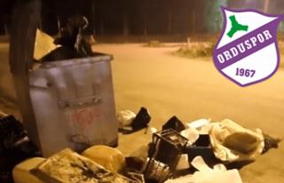 Orduspor'dan 'çöp' açıklaması