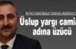 """Ak Parti Genel Başkan Yardımcısı Gül: """"Yargı..."""