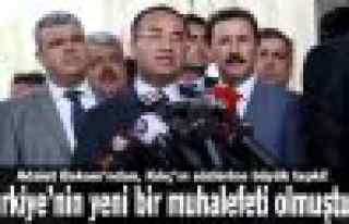 """Bozdağ: """"Türkiye'nin yeni bir muhalefeti olmuştur"""""""