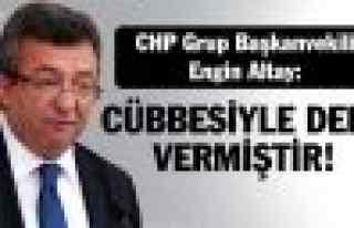 CHP'li Altay: