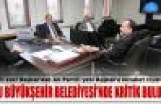 CHP'li eski Başkan, Ak Partili yeni Başkan'ı ziyaret...
