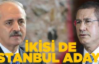 İkisi de İstanbul'dan aday oldu!