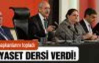 Kılıçdaroğlu, partililere 'ben' değil, 'biz'...