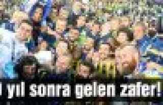 Ve 9 yıl aradan sonra Fenerbahçe şampiyon!
