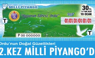 Ordu'nun doğası Milli Piyango'da