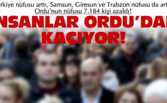 Türkiye'nin nüfusu arttı, Ordu düştü!
