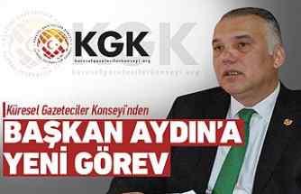 KGK'dan Başkan Recep Aydın'a yeni görev