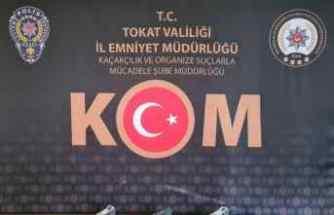 Tokat'ta silah operasyonu: 4 gözaltı