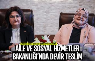Bakan Zehra Zümrüt Selçuk görevini devretti