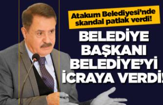 Atakum Belediyesi'nde büyük skandal!